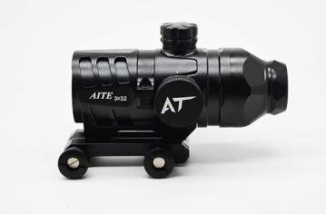 成都棱镜式白光瞄准镜5001-3×32
